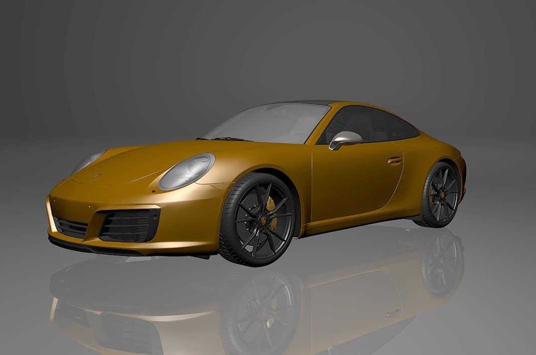Porsche 911 Front Lackschutz